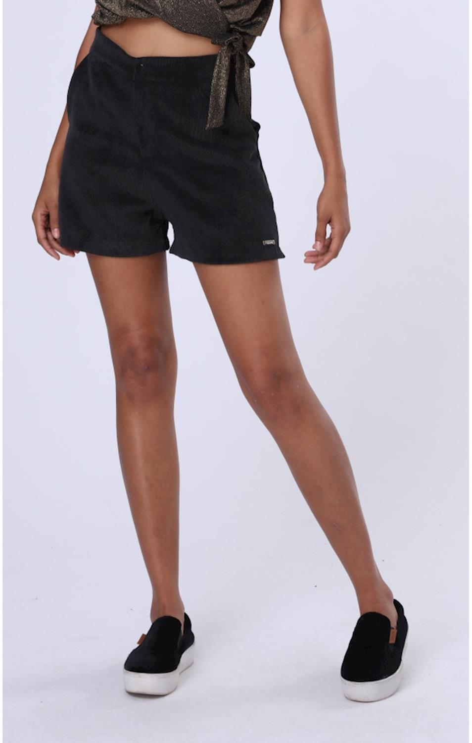 Shorts Veludo Codigo Girls